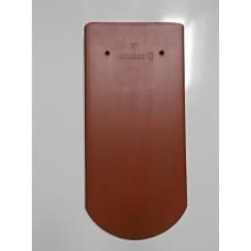Bobrovka 19 x 40 kulatý řez - červená engoba