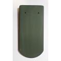 Bobrovka 19 x 40 kulatý řez - zelená engoba (01)