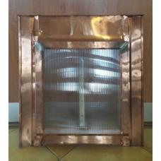 Střešní okno výlezové 500 mm x 500 mm včetně výplně Cu (měď)