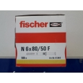 Hmoždinka natloukací N 6 x 80mm/50mm F FISCHER